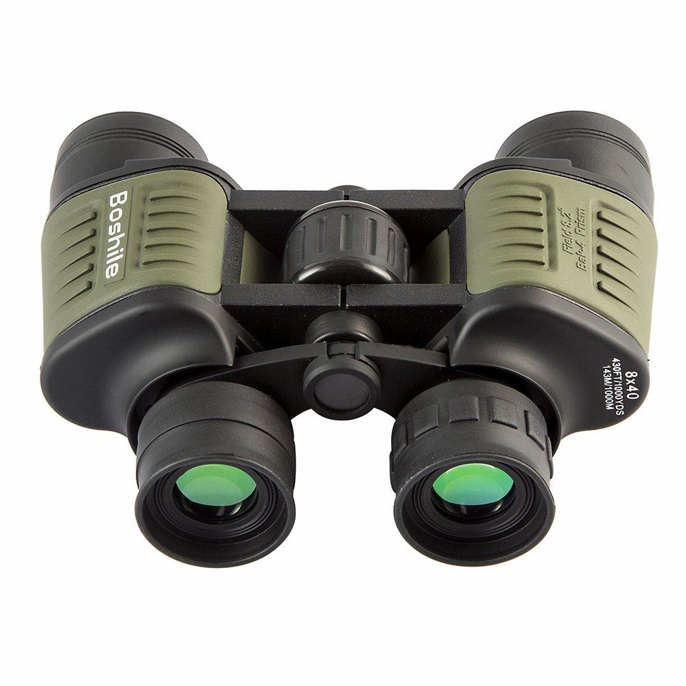 Boshile 20 x 50強力な高定義双眼防水完全にコーティングレンズbak-4プリズムガラスのアウトドアBird Watchingキャンプ狩猟スポーツ B075BCNKR4 8*40mm グリーン グリーン 8*40mm
