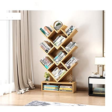 pretty nice efa69 e570d Amazon.com: LLSDLS Tree-Shaped Bookshelf Racks Simple Modern ...