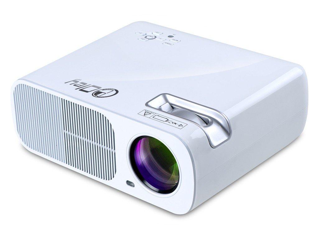 LCD LED 3000lumen Android 4.4 1 + 8GB Wifi BluetoothゲームビデオHDMI USB TVフルHD 1080PホームシアターマルチメディアLED液晶プロジェクター B077CQYBD2