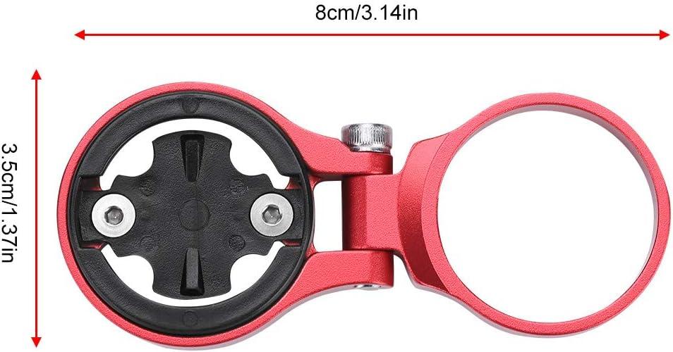 Aleaci/ón de Aluminio Soporte de extensi/ón de od/ómetro de Ciclismo Accesorio de Soporte Ajustable para computadora de Bicicleta WolfGo Soporte de od/ómetro de Bicicleta