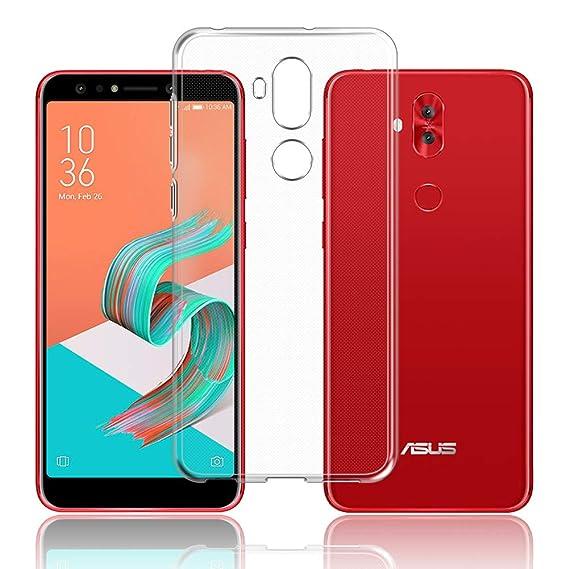 huge selection of 6e396 88e49 Amazon.com: Asus ZenFone 5Q ZC600KL Case, TopACE TPU Rubber Gel ...