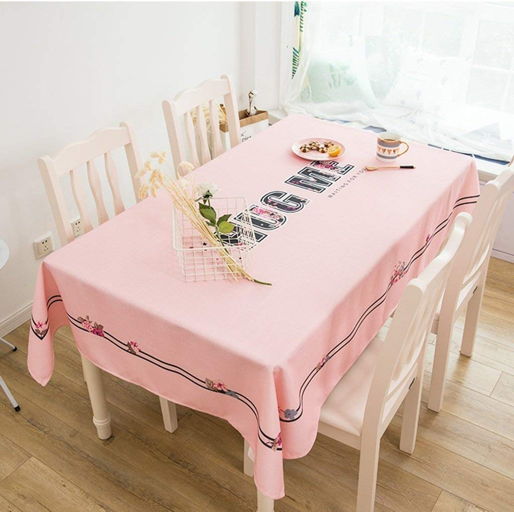 家の装飾布カバー ホーム防水テーブルクロスコットンとリネンスクエアテーブルクロステーブルクロスコーヒーテーブルレストランクロス テーブルクロス   B07RT4XRBB