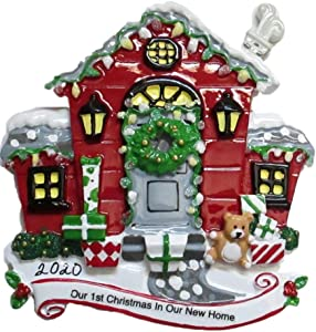 DBK GIFTS Our First Christmas in Our New Home Christmas Tree Ornament 2020