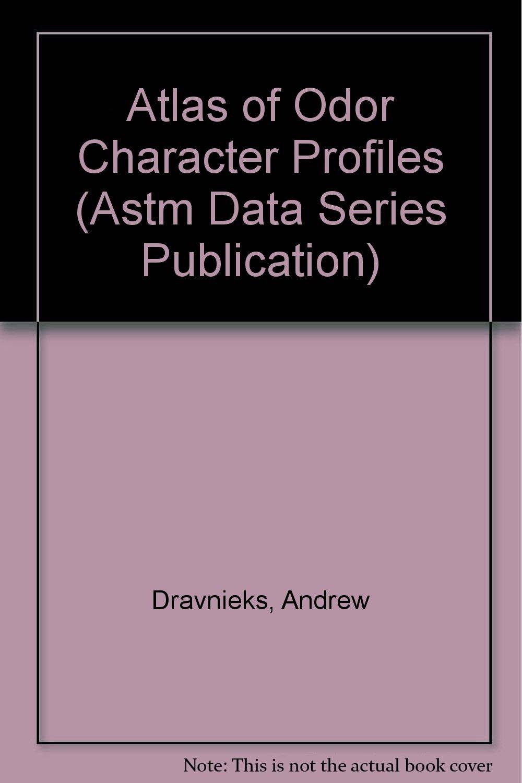 amazon atlas of odor character profiles astm data series