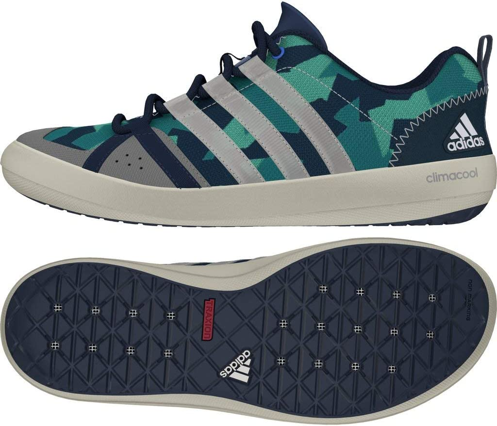 adidas Boat Lace Segelschuhe Camouflage Mint Blue/White/Green