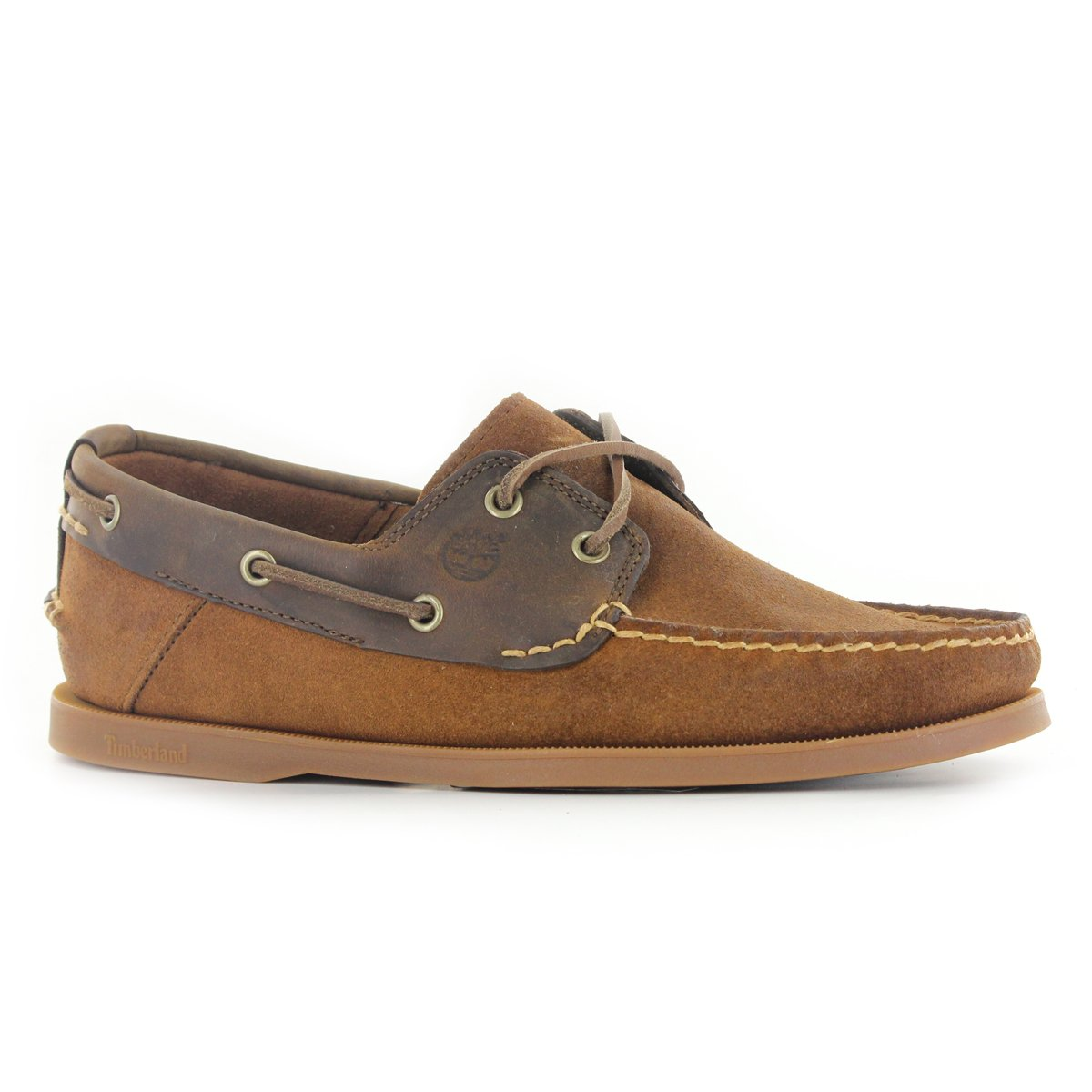 Timberland EK 6469R Heritage Leather Brown Mens Boat Shoes Size 10 UK   Amazon.co.uk  Shoes   Bags af73c9ae4