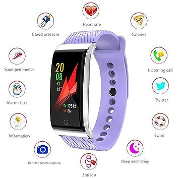 Montre Connectée,IP67 Imperméable Bracelet Connecté Fitness Tracker dActivité Montre Cardio Avec Cardiofréquencemètre