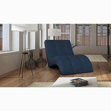 JUSTyou LAGUNA Sill³n relax chaise longue Piel sintética lxLxH