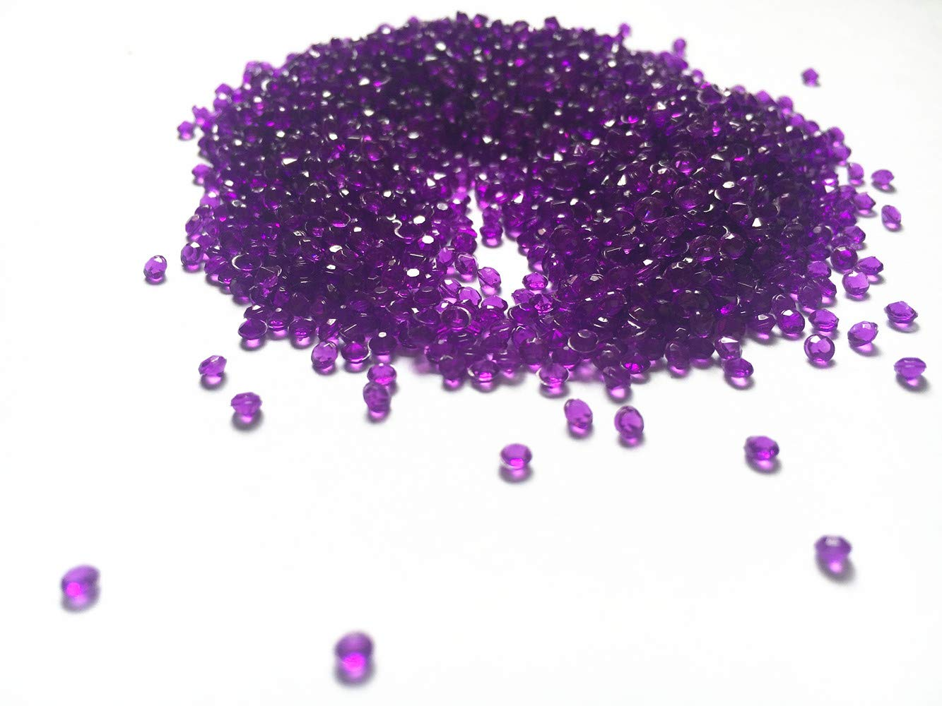 Table Scatters 2.5mm 10000pcs Champagne Liying shop Acrylic Diamonds Faux Round Crystals Treasure Gems for Table Confetti Arts /& Crafts Vase Fillers Wedding Decoration