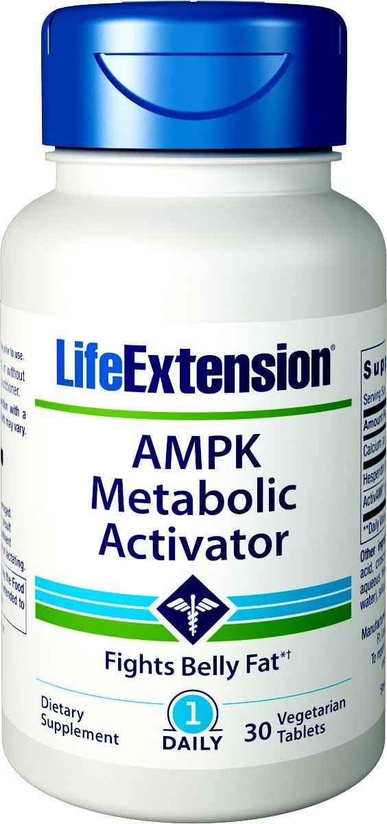 Life Extension AMPK Metabolic Activator 30 Vegetarian Tablets by Life Extension