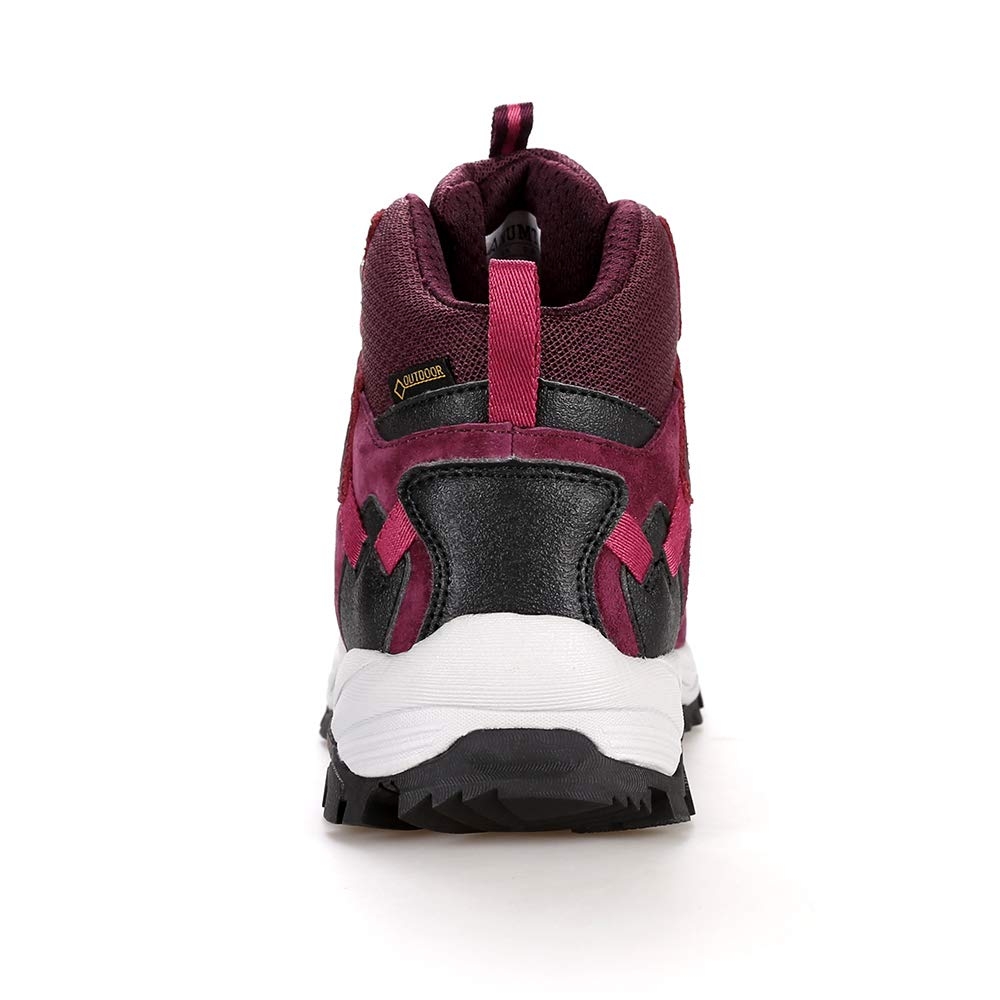 QLMXZY Womens Wear-Resistant Hiking Boots and Comfortable Casual Shoes