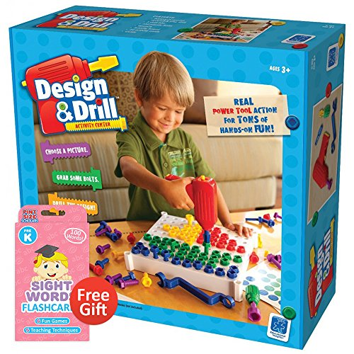 Design and Drill Activity Center with Your Choice of Educational Flashcards (Pre-K)