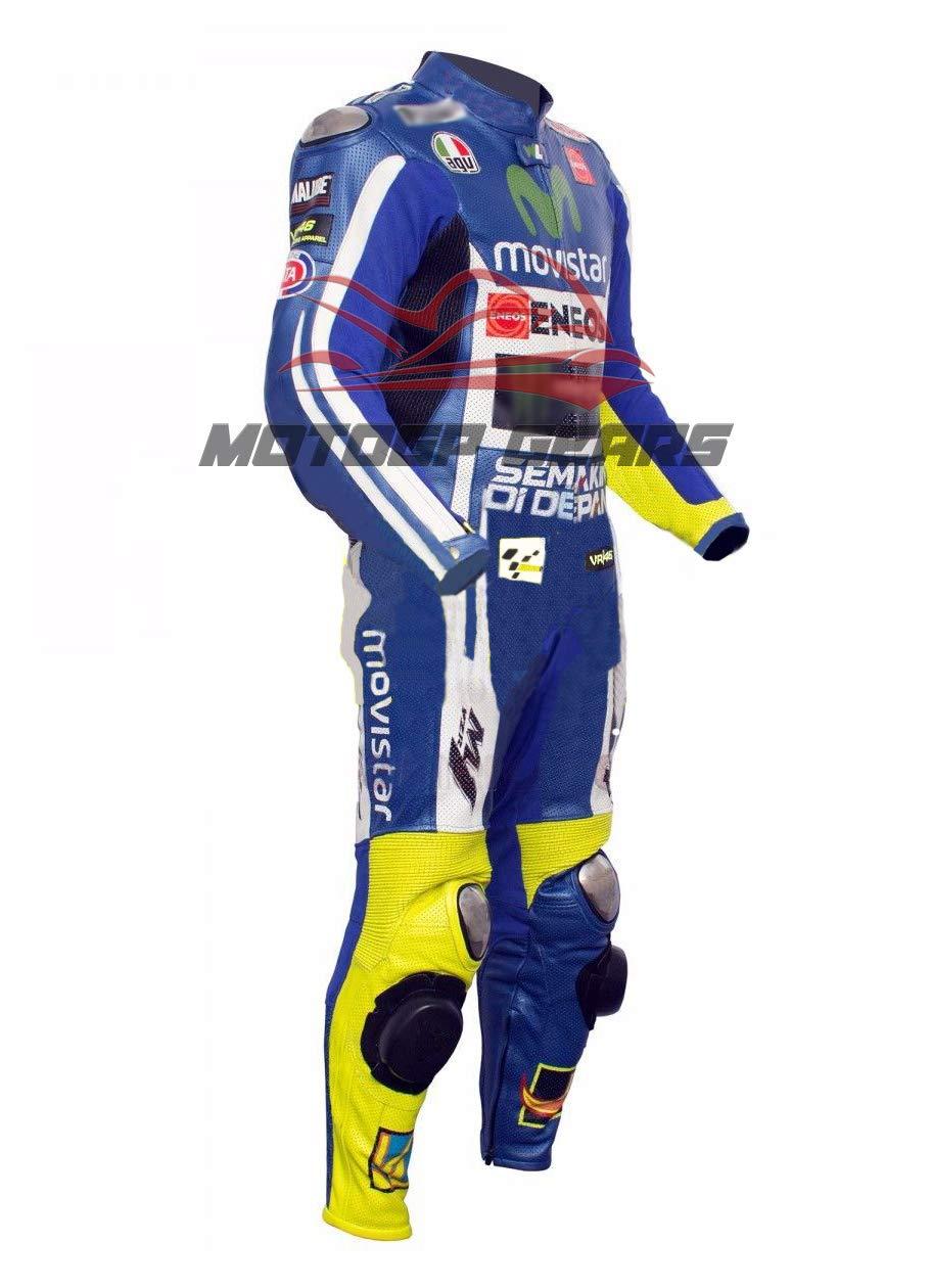MOTOGPGEARS Valentino Rossi - Traje de piel para motocicleta ...