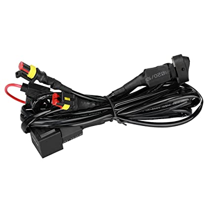 Pleasant Amazon Com For Bmw R1200Gs F800Gs Adv Led Fog Lights Wiring Harness Wiring Cloud Hisonuggs Outletorg