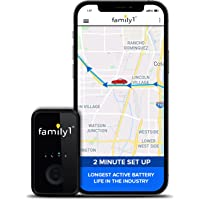 Family1st Mini GPS Tracker Device for Vehicles - GPS Tracking Device, Trucks, Kids, Motorcycles, Automobiles, Elderly…