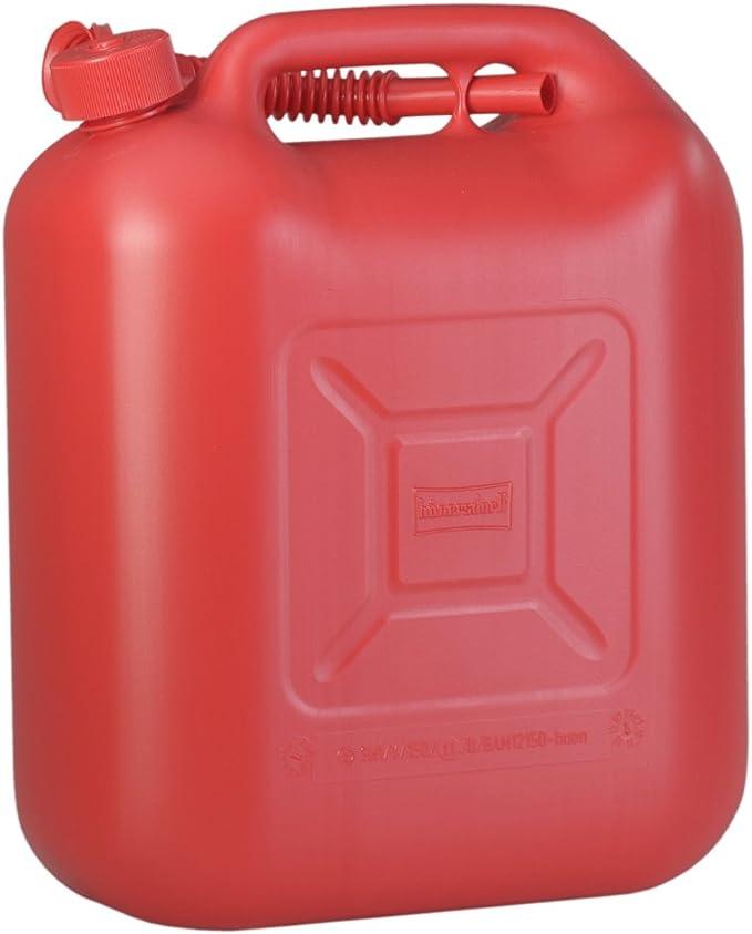 Kraftstoff Kanister Standard 20l Für Benzin Diesel Und Andere Gefahrgüter Un Zulassung Made In Germany TÜv Geprüfter Produktion Rot Auto