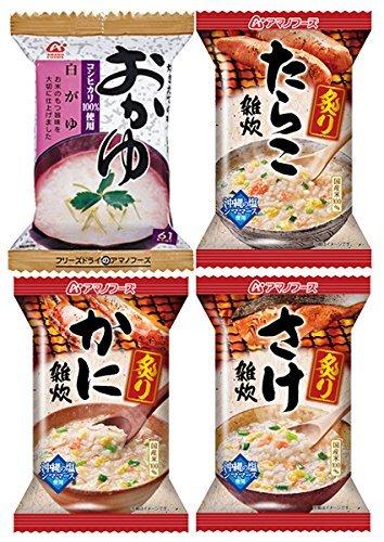 Amano alimentos liofilizados avena y arroz con leche cuatro comidas 48 set (arroz nacional se