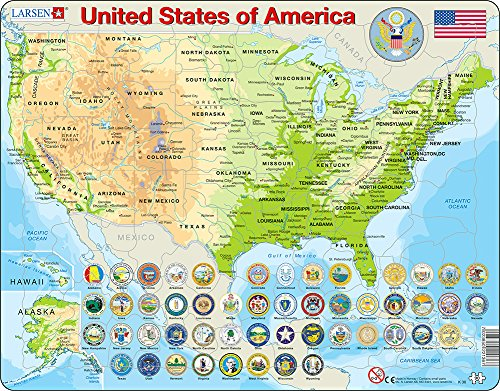 River Range (Larsen K36 United States Of America - USA Puzzle For Kids (90 Pieces))