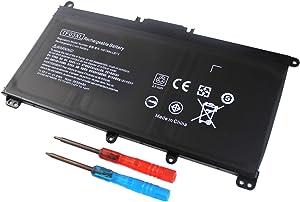 Yongerwy TF03XL Laptop Battery Compatible for HP Pavilion 14-BF 15-CC 15-CD 17-AR 14-BF033TX 15-CC000NO 15-CD000NG 920046-121 920046-421 920046-541 HSTNN-IB7Y HSTNN-LB7J HSTNN-LB7X TPN-Q188 TPN-Q189