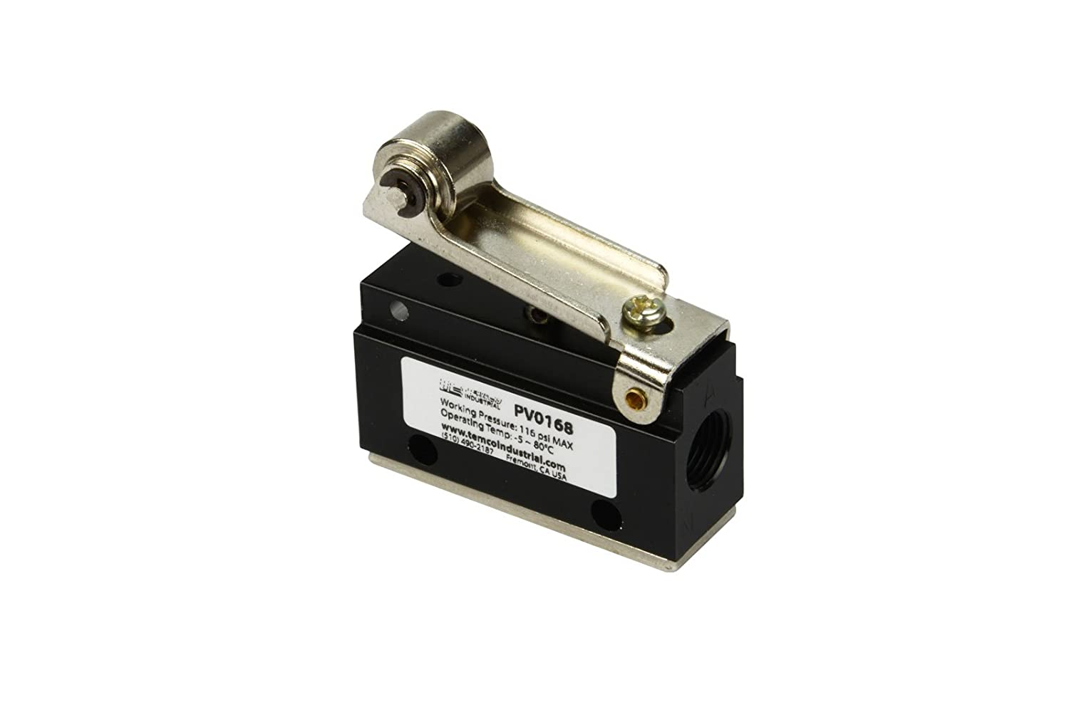 2 Qty Roller Limit Switch Normally Closed Pneumatic Air Control Valve 2 Port 2 Way 2 Position 1//8 NPT