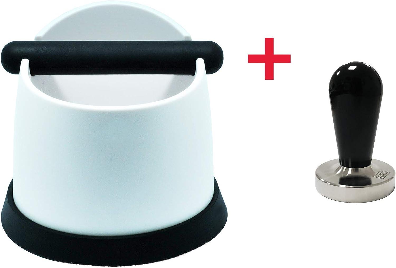 Escarlet Espresso Pico Bello calidad Barista Blanco Recipiente para posos de caf/é