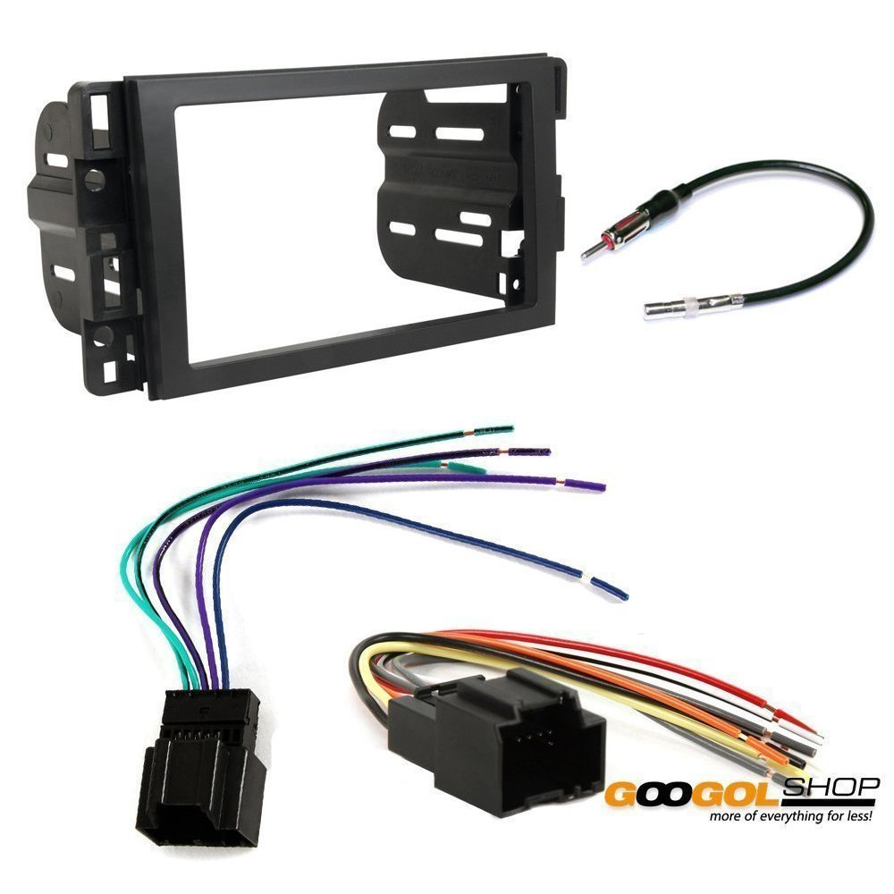 Saturn 2008 2009 Vue Car Stereo Dash Install Mounting 1963 Cadillac Wiring Harness Kit Wire Radio Antenna Electronics