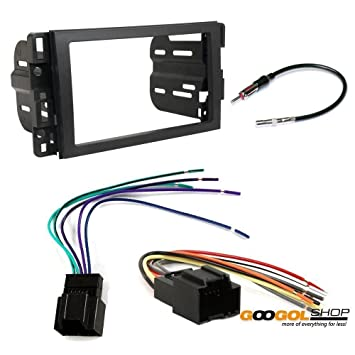 61X%2Bl7sx3ZL._SY355_ amazon com chevrolet 2009 2012 traverse car stereo dash install Car Stereo Wiring Colors at bayanpartner.co