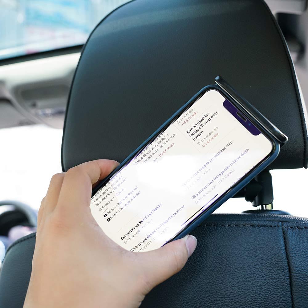 Negro Otras Tablets Phone Soporte Tablet para Reposacabezas : Soporte Base Ajustable para 4.7~13 Tablets para Pad 2018 Pro 9.7 Eono Essentials Soporte Tablet Coche 10.5 Air Mini 2 3 4