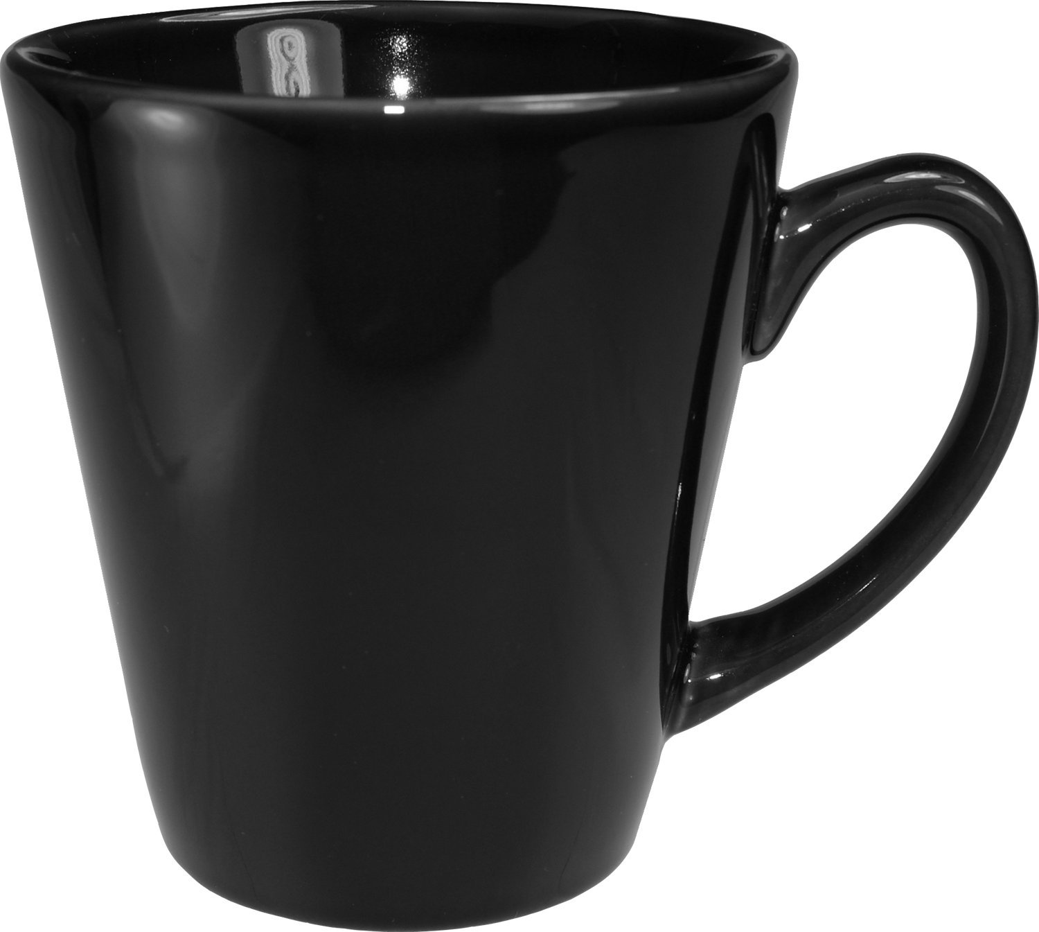 ITI 839-05 36-Piece Cancun Funnel Coffee Cup, 12-Ounce, Black