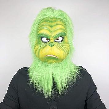 hengGuKeJiYo Halloween Santa Grinch Disfraz de Cosplay Grinch Robó ...