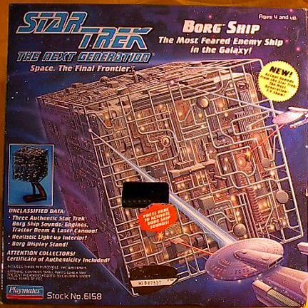 Star Trek the Next Generation Borg Cube Ship (Star Trek Borg Cube)