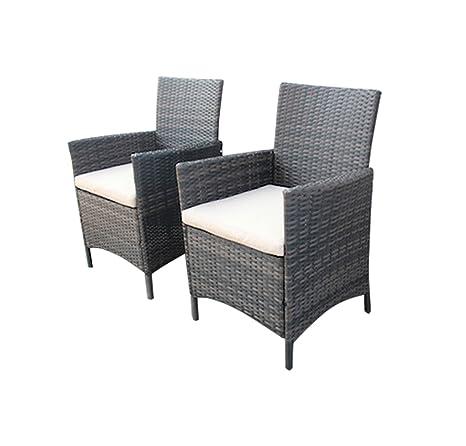 Jardín interior Bentley/2 sillones de mimbre al aire libre ...