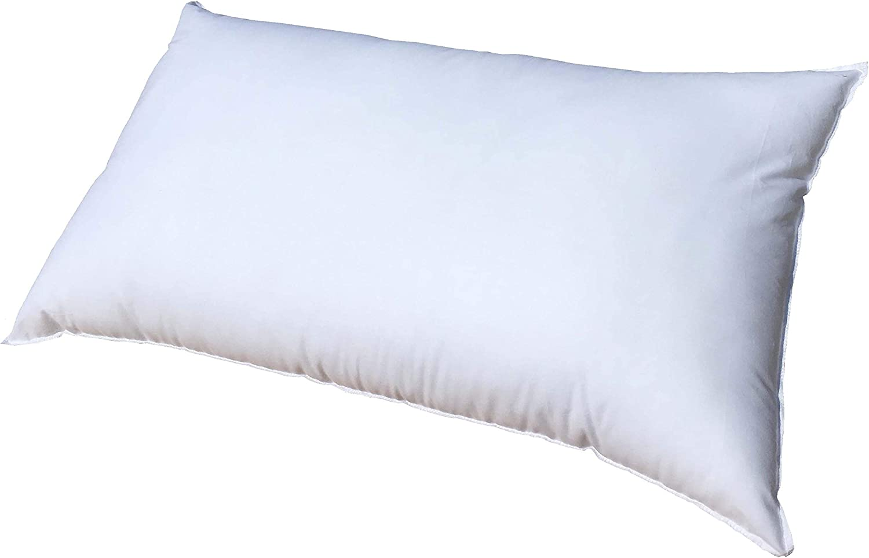 Pillowflex 14x36 Inch Cluster Fiber Pillow Form Insert - Made in USA - Rectangle Oblong