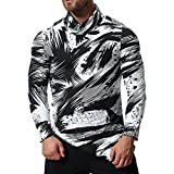 Clearance Sale! Wintialy Mens Long Sleeve Oxford Formal Casual Suits Shirts Blouse Top