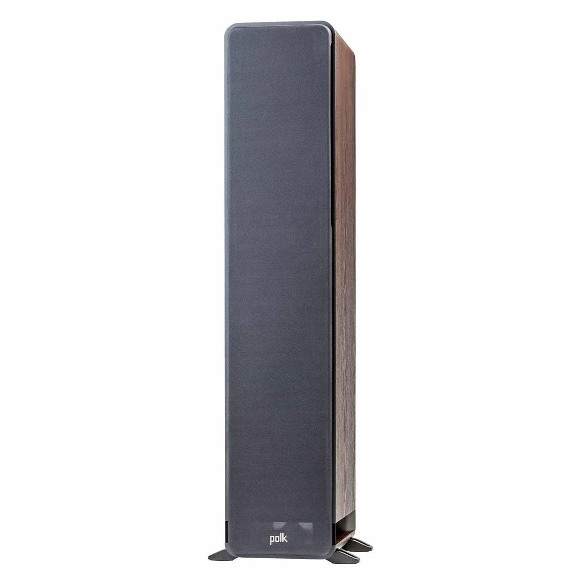 Polk Audio Signature Series S50 American Hi-Fi Home Theater Small Tower Speaker (Classic Brown Walnut)