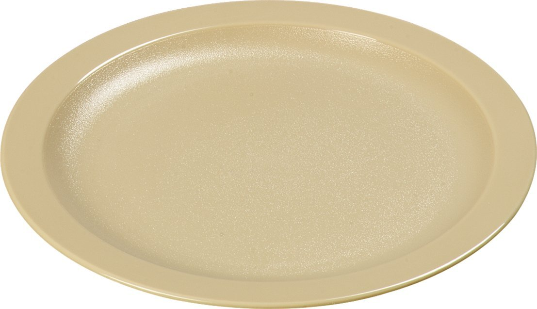 Carlisle PCD20725 Long-Life Polycarbonate Salad Plates, 7.25'', Tan (Pack of 48)
