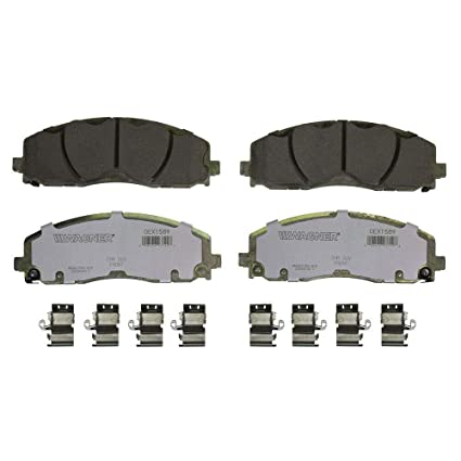 WAGNER Brake OEX1589 WAGNER OEX DISC PAD Set, Brake Pads