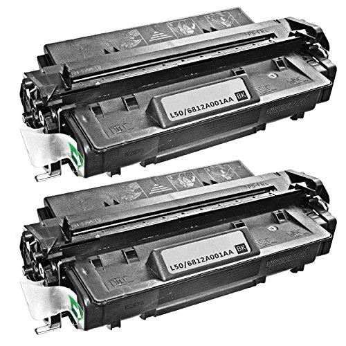 (2 Pack Remanufactured High Yield Canon L50 Black Laser Toner Cartridge for Canon ImageClass D660 D661 D680 D780 D860 D861 D880 PC 1060 1061 1080F)