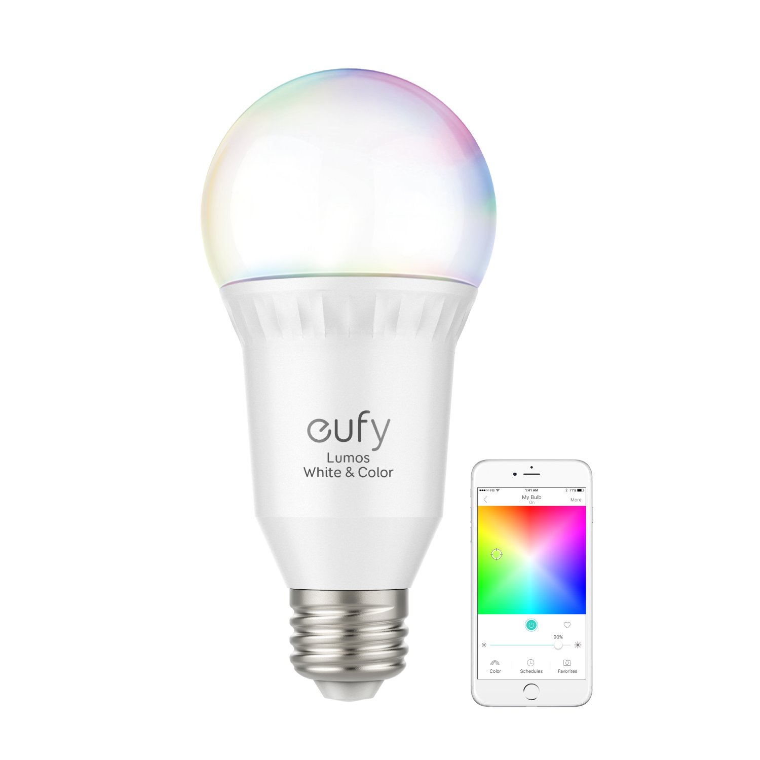 eufy Lumos Color Wi-Fi Smart Light Bulb