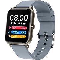Mode Full Touch P22 Smart Horloge Vierkante Riem Hartslag Monitor Dames Heren Sporthorloges Dames Smart Horloges Voor…