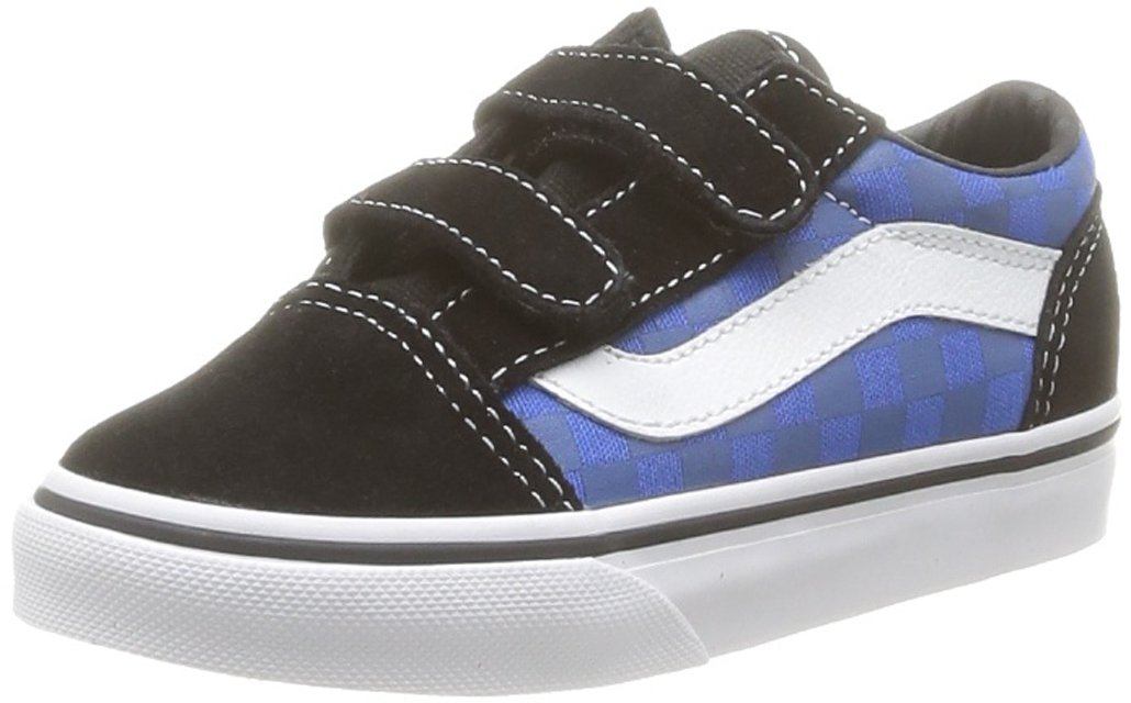 SPORTS SHOE BLACK VANS OLD SKOOL D3YBLK B00DS8R2WK 9.5 UK Child|Blue (Tonal Check B) Blue (Tonal Check B) 9.5 UK Child, SAVOY 1409f53e