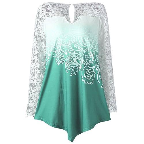 ZAFUL - Camisas - Túnica - Manga Larga - para mujer