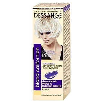 Dessange Blond Californien Soin Patine Correcteur De Pour Cheuveux Blonds Colores Ou Fortement