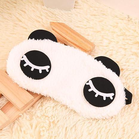 Máscara de Ojos para Dormir niños Animales, Panda Dormir ...
