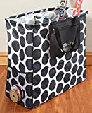 The Gift Wrap Organizer Totes Polka Dots