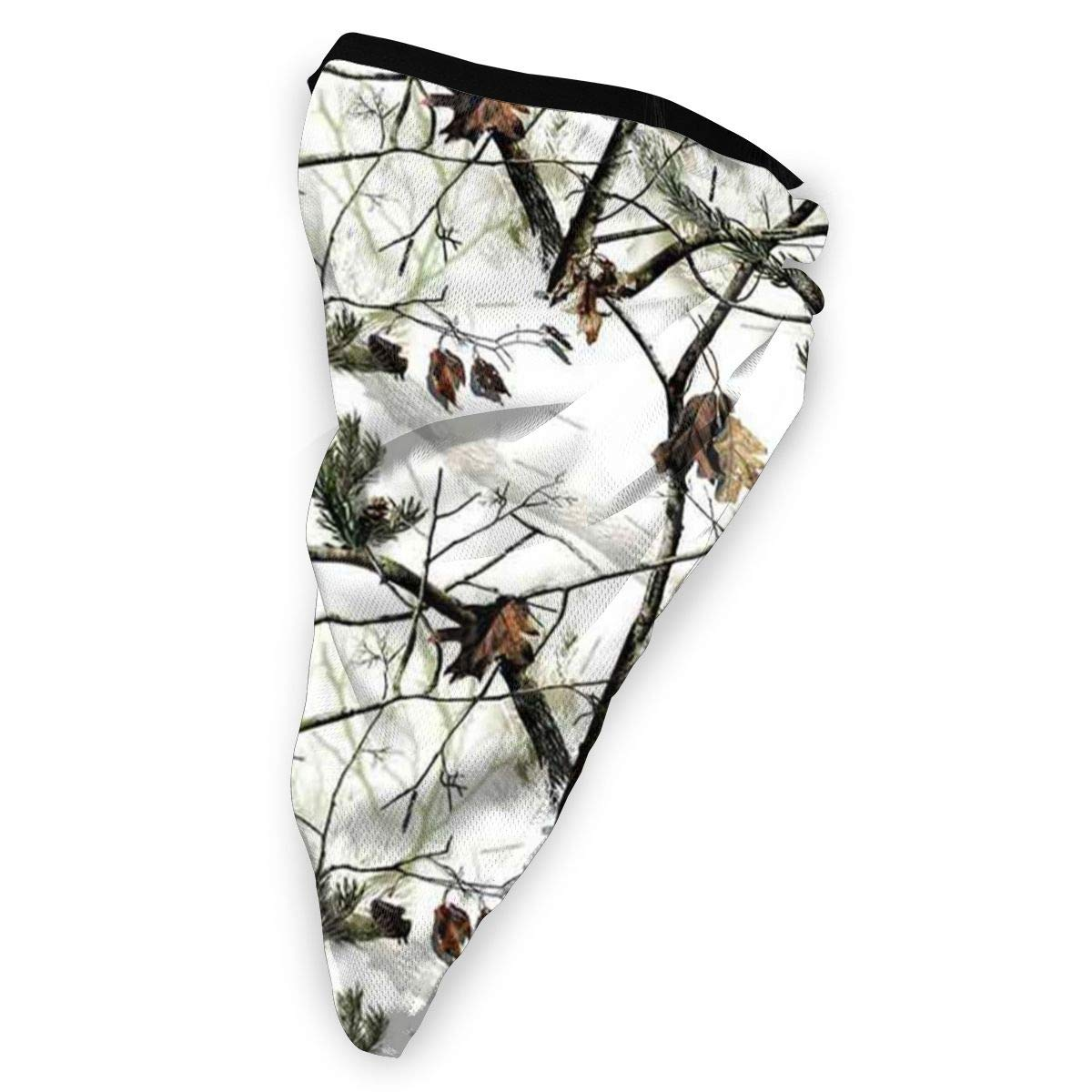 White Realtree Camo Neck Gaiter Warmer Windproof Face Mask Scarf Outdoor Sports Mask
