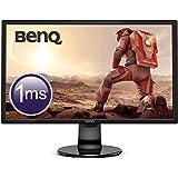 BenQ GL2460BH Écran Gaming de 24 pouces, FHD 1080p, 1ms, Eye-Care, HDMI, Capteur de luminosité ambiante B.I., Haut-parleurs