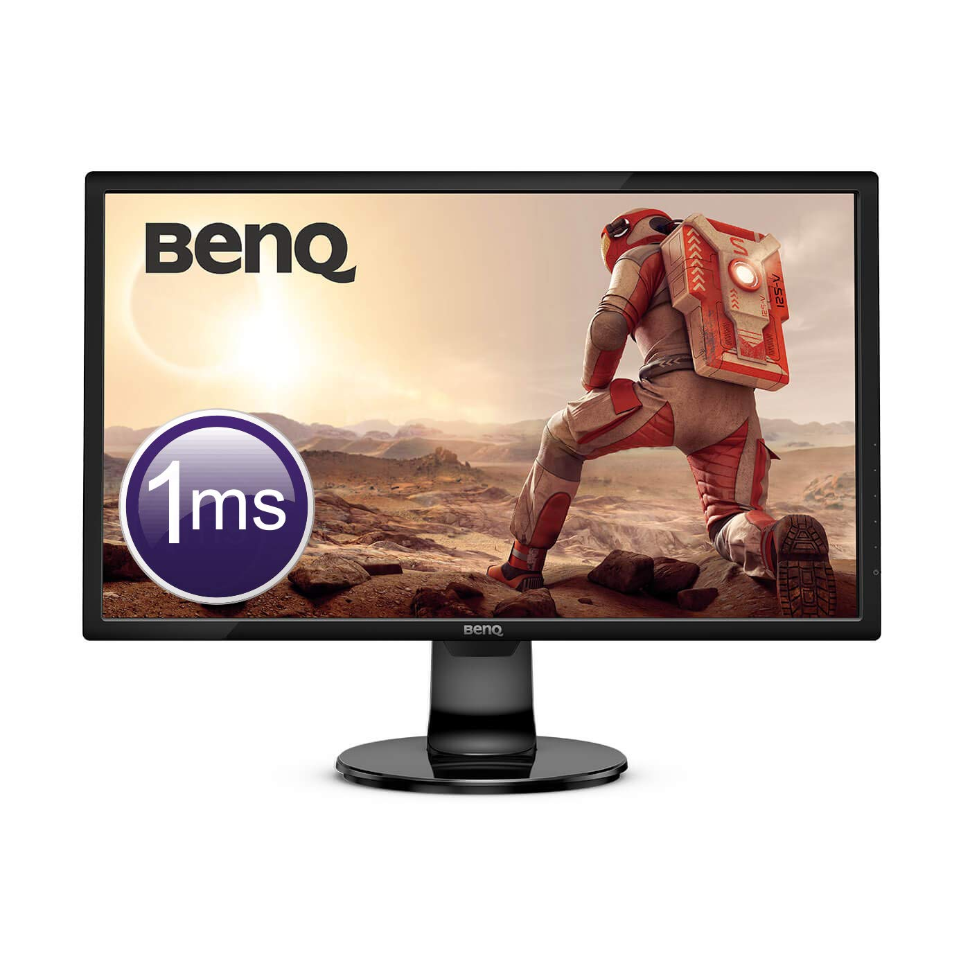 BenQ GL2706PQ - Monitor Gaming de 27' (LED 2K QHD, 1ms, Eye-Care, Regulable en Altura, HDMI, Display Port, Altavoces), Gris metá lico BenQ GL2706PQ - Monitor Gaming de 27 (LED 2K QHD Gris metálico