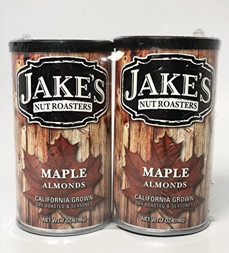 Jake's Nut Roasters Maple Almonds (2 - Nuts Specialty
