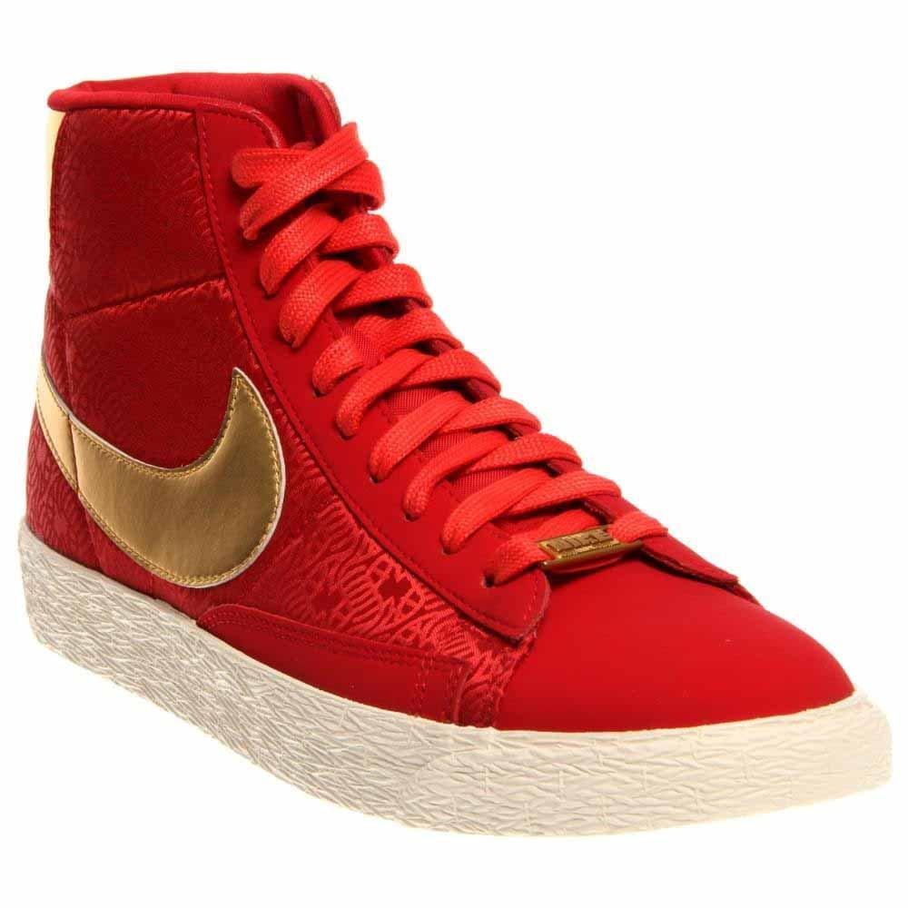 Nike Blazer Women's Flats Red Size 9.5 M